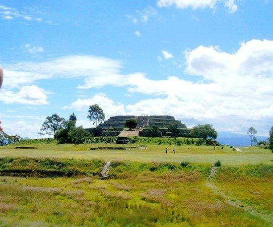 Xochitecatl: Pyramid of Flowers ... Xochtecatl Archeological Zone