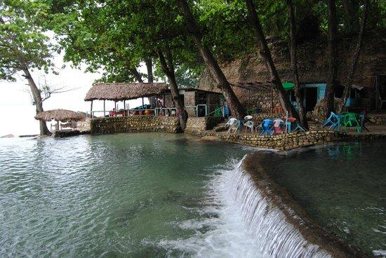 Ecotour Barahona Day Tours: balneario san rafael barahona republica dominicana