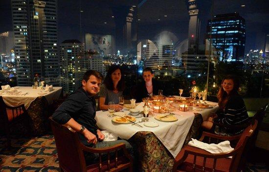Rang Mahal Restaurant: Fantastic views from your table!