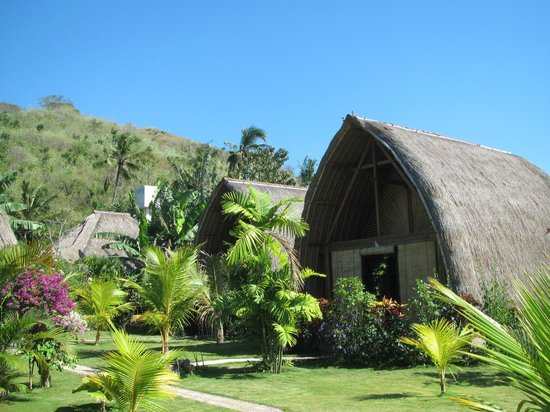 Rhipidura Cottages: one of the A-Frame Bungalows