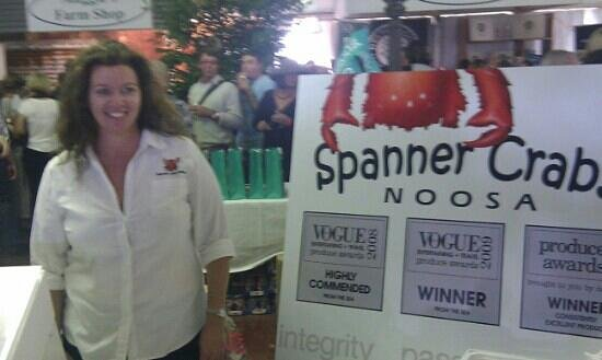 Noosa Farmers Market: Spanner Crabs Noosa