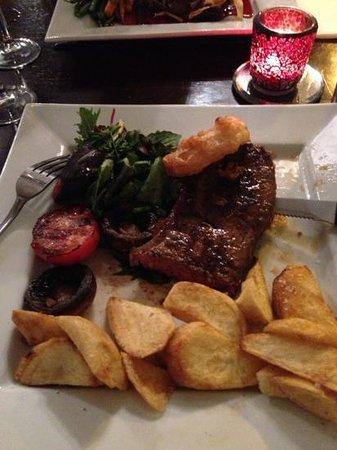 Cheyne Lane Bistro: Paul's great steak