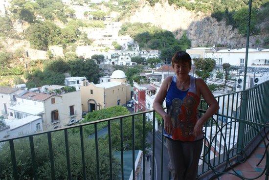 Hotel Savoia : El balcón de mi habitación