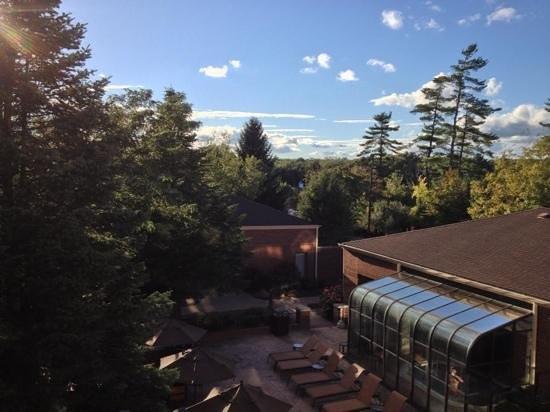 Courtyard Boston Milford: amazing view