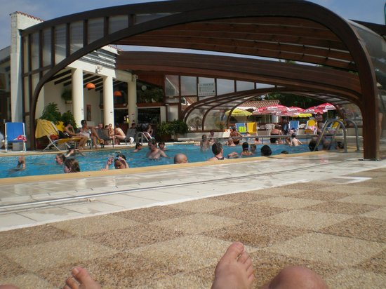 La Brande Camping Caravaning : piscine
