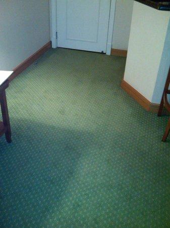 Marriott Executive Apartments Sao Paulo: Não sei se dá pra perceber na foto, mas o carpete está surrado...