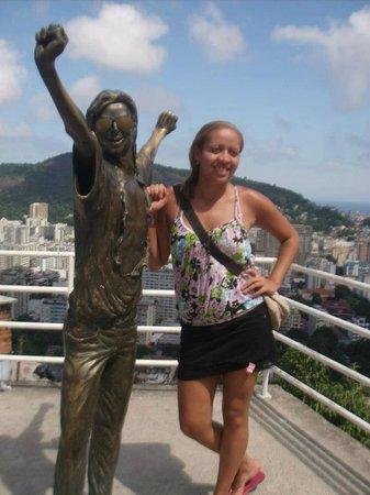 Favela Santa Marta Tour : Laje do Michael