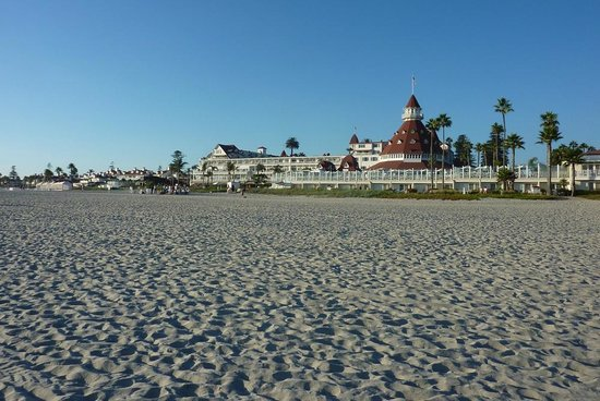 Hotel del Coronado: The Beach area and Hotel