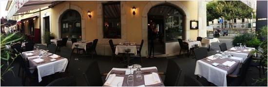 La Table : terrasse