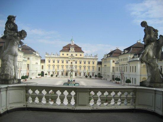 Ludwigsburg Palace (Residenzschloss) : Saray Balkonu