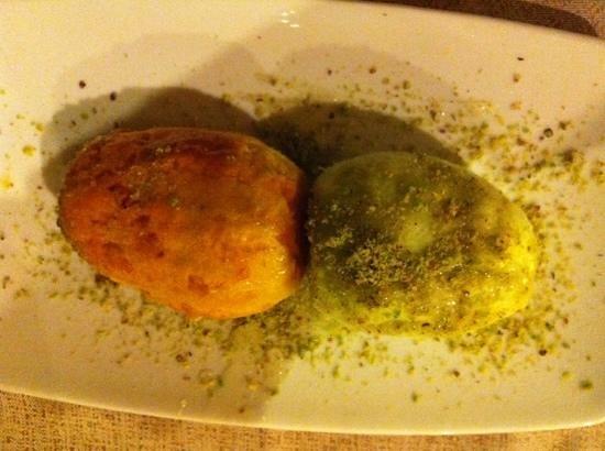 Kalos: fichi d'india con miele e pistacchi