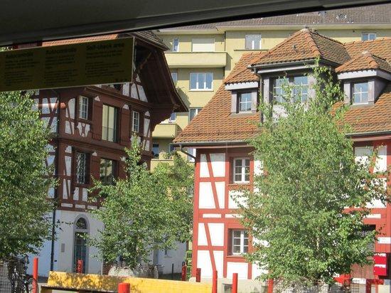 ibis Styles Luzern City: Vista do apartamento do Hotel