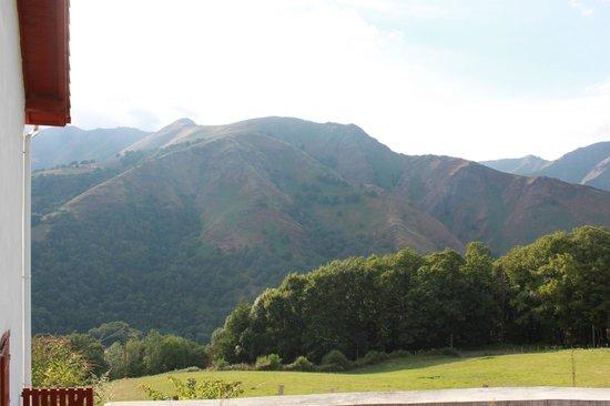 Idiartekoborda : Vue depuis le gîte