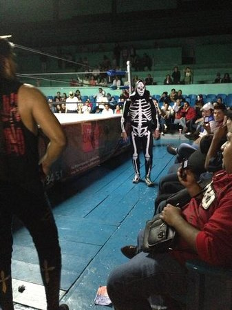 Hotel Quinta Lucca: while in Queretero, check out Lucha Libre.  It is a blast!  Check with hotel staff to see if the