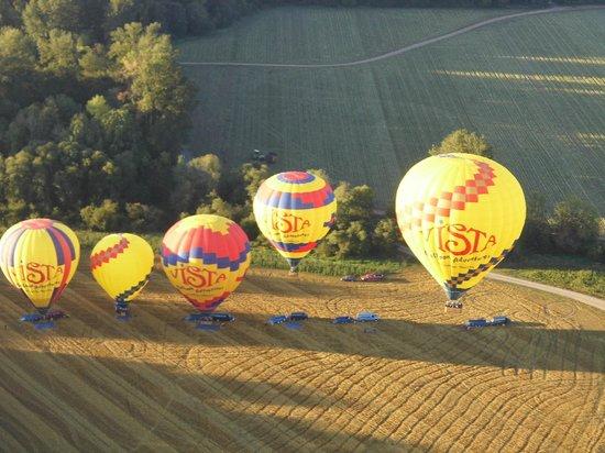 Vista Balloon Adventures: Taking off...