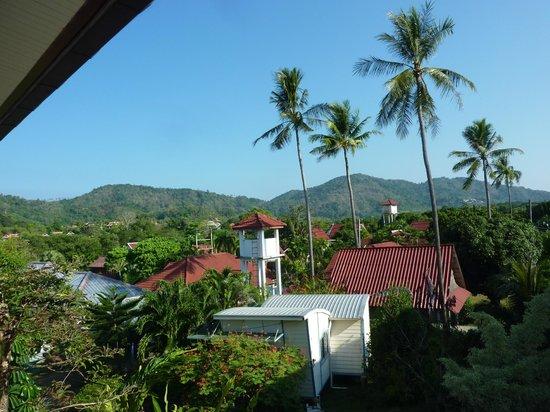 Thalassa Village Resort: Vue de la terrasse