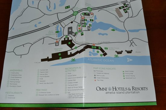 Villas of Amelia Island Plantation : Directions to the hotel with Omni logo