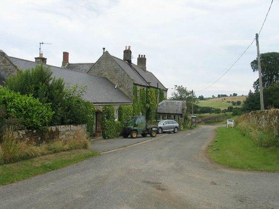 Tosson Tower Farm: farmhouse