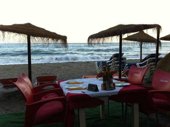 Restaurante La Red: Cenare in riva al mare aumenta il piacere della vacanza.