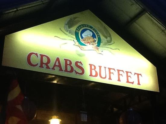 Glamour Resto N Caterer : Crabs. Buffet. Need I say more?
