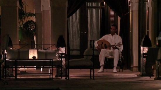 La Villa des Orangers - Hotel: Dîner aux chandelles et avec très agréable fond musical