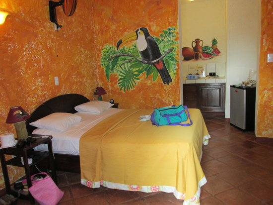 Hotel el Rancho: Room with kitchenette
