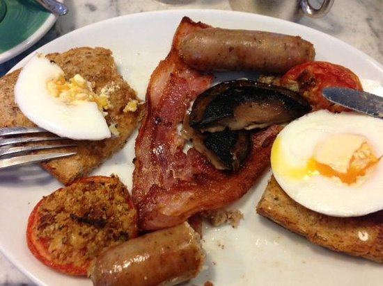 Stop The World Cafe: Classic: Full English (and no beans, Ace!)