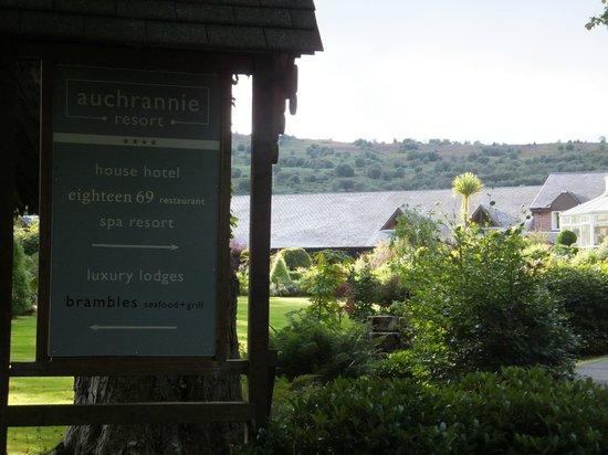 Auchrannie Resort: Gardens