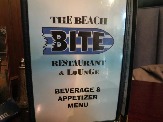 Beach Bite at Rockaway: the menu