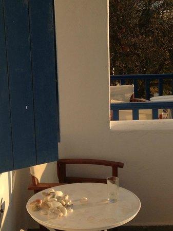 Lefkes Village Hotel: Balcony