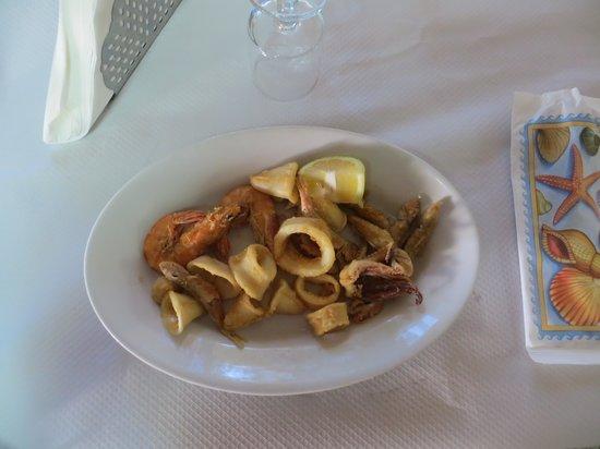 Trattoria Pastorello: frittura di pesce mista