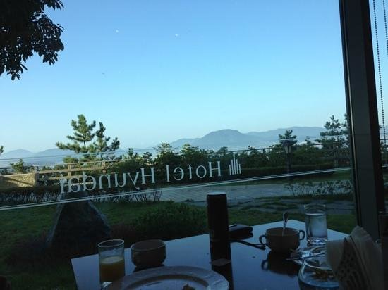 Hyundai Hotel Mokpo: 1층 TOPAZ에서