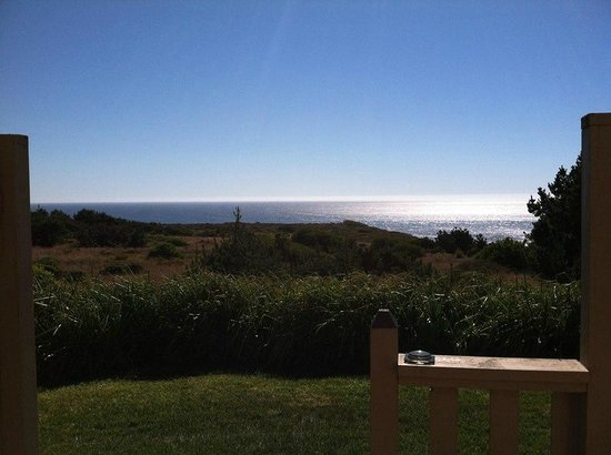 Fort Ross Lodge: view from room 17 patio