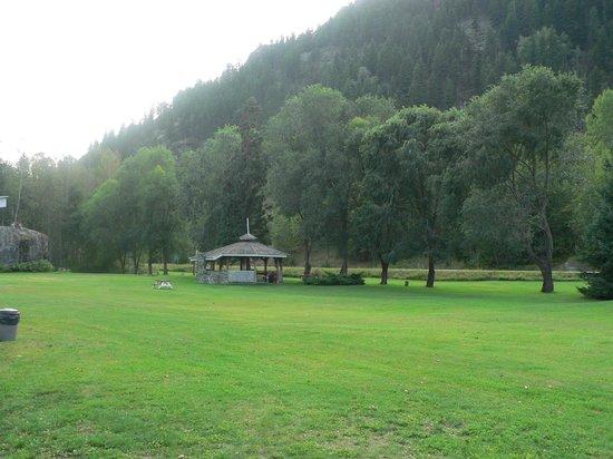 Rivermount Motel: Garden view
