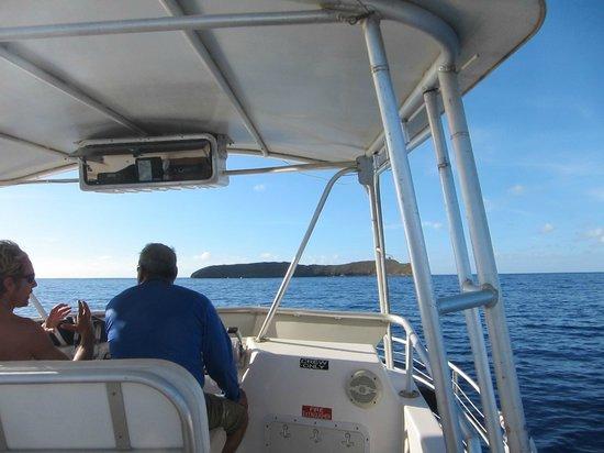Aqua Adventures: Heading to Molokini!