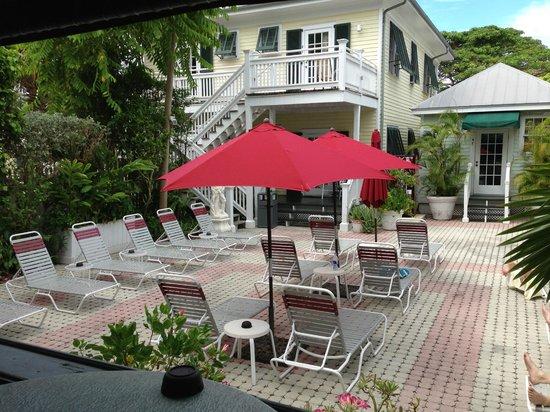 The Cabana Inn Key West : Sun deck area