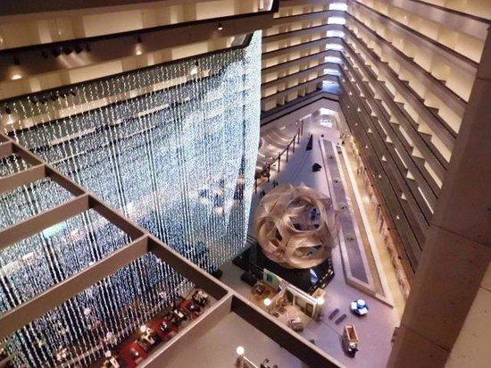 ไฮแอทรีเจนซี่ ซานฟรานซิสโก: The Hyatt's atrium