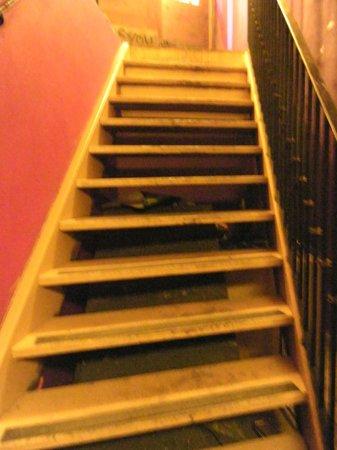 Friends Prague bar & club : Stairs of Friends bar/club