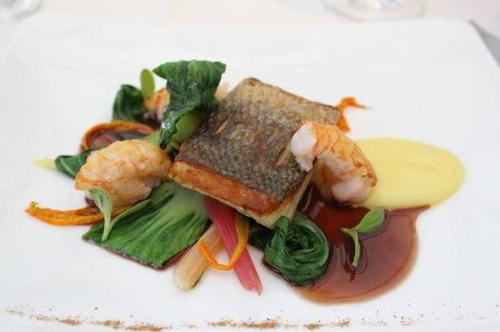 Belmond Le Manoir aux Quat'Saisons: Fish and Vegetables
