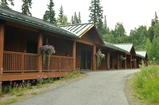 Mt. McKinley Princess Wilderness Lodge: Typical Outside of Accomodations