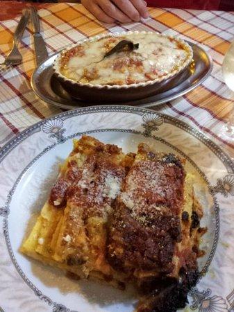 Hostaria Dei Bastioni: Our meal