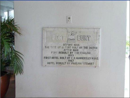 Fort Burt Hotel: Historic, quaint, friendly!
