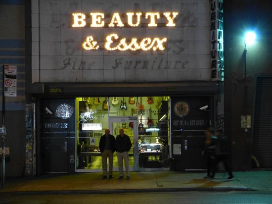 Beauty And Essex Restaurant New York Times