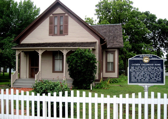 Willa Cather Home Picture Of The Willa Cather Foundation Red - Willa cather us map