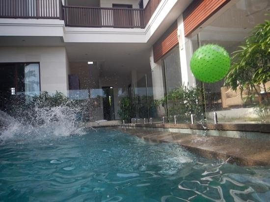Villa Echo Padi: the pool