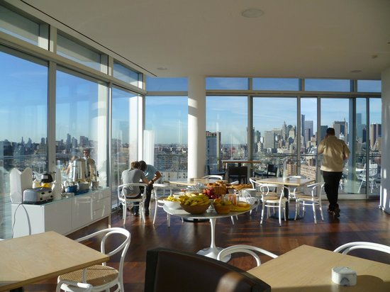 The Standard, East Village: Penthouse Breakfast room