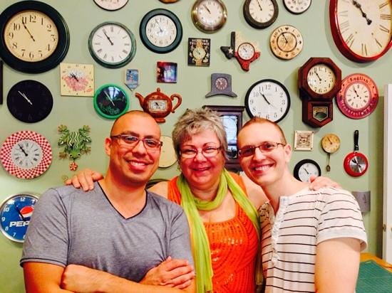 Farmers Guest House : Susan the Innkeeper and Us