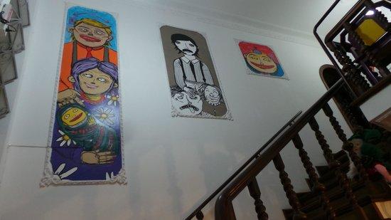 Motter Home Curitiba Hostel: Stairs !!!