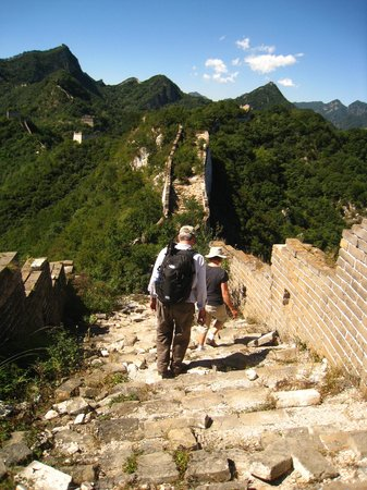 The Great Wall Hike (James Private Tour) : Gorgeous scenery along the Jiankou section of the Great Wall