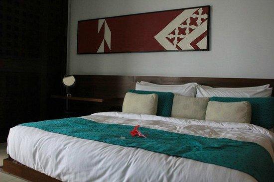 InterContinental Fiji Golf Resort & Spa: bedroom was so comfortable!